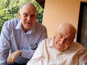 Graham Stewart and Pieter Williams, Hermanus, September 2015